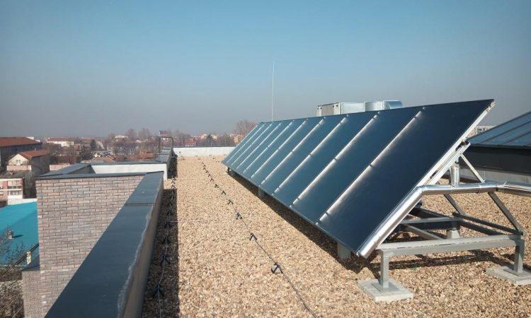 solarni kolektori Borča